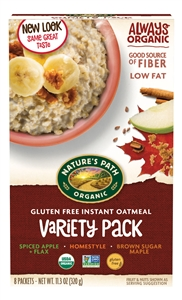 Gluten Free Variety Pack Oatmeal - 11.3 Oz.