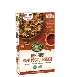 Natures Path Flax Plus Maple Pecan Crunch - 11.5 Oz.