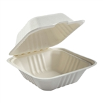 Small Hinged Lid Containers - 6 in. x 6 in. x 3.19 in.