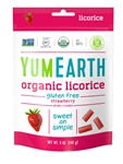 Yumearth Organic Licorice Strawberry - 5 Oz.