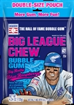 Big League Chew Double Play Pouch Blue Raspberry - 4.24 oz.