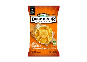Aged Cheddar Horseradish Kettle Potato Chip - 2 Oz.