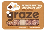 Peanut Butter Chocolate Chip Oat Squares - 1.5 Oz.
