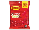 Sathers 2 for Dollar 2 Cherry Sours - 4.25 oz.