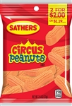 Sathers 2 For Dollar 2 Circus Peanuts - 2.5 oz.