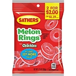 Sathers 2 For Dollar 2 Gmmllo Melon Ring - 3.75 oz.