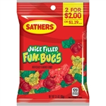 Sathers 2 For Dollar 2 Fun Bugs Candy - 3.5 oz.