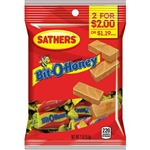 Sathers 2 For Dollar 2 Bit-O-Honey - 2 oz.
