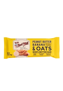 Bobs Red Mill Peanut Butter Banana and Oats Bar - 1.76 Oz.