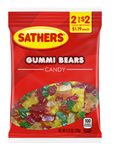 Sathers Gummi Bears Candy - 4.25 oz.