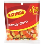 Sathers 2 For Dollar 1.50 Candy Corn - 3.25 oz.