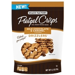 Milk Chocolate and Caramel Drizzlers - 5.5 Oz.