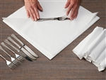Liner White No Fold Dinner Napkin - 15.5 in. x 15.5 in.