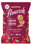 Flourish Roasted Beet Veggie Crisps - 0.75 Oz.