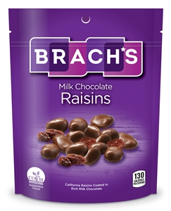Brachs Milk Chocolate Covered Raisin - 6 Oz.