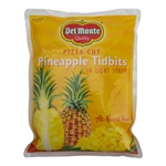 Delmonte Pizza Cut Pineapple Tidbits - 81 Oz.