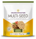 Crunchmaster Multi-Seed Crackers Rosemary and Olive Oil - 4 Oz.