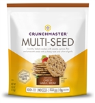 Crunchmaster Multi-Seed Cracker Artisan Cheesy Garlic Bread - 4 Oz.