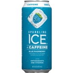 Sparkling Ice +Caffeine Blue Raspberry with Antioxidants and Vitamins - 16 Fl. Oz.