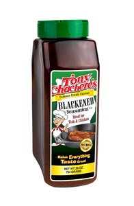 Tony Chacheress Blackened Seasoning - 28 Oz.
