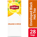 Lipton Hot Black Tea Orange and Spice Pack