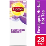 Lipton Hot Turmeric Ginger Tea Pack