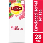 Lipton Hot Berry Hibiscus Tea Pack