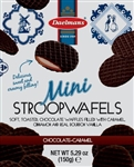 Chocolate Mini Stroopwafel Stand Up Pouch - 5.29 oz.