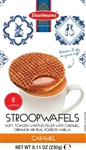 Dutch Caramel Wafers Hex Box - 8.1 Oz.