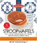 Jumbo Caramel Stroopwafel Cube Box Display - 10.94 oz.