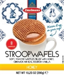 Jumbo Honey Stroopwafel Cube Box - 10.23 Oz.