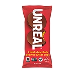 Unreal Candy Dark Chocolate Peanut Butter Cups - 1.1 Oz.