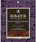 Krave Black Cherry Barbecue Gourmet Pork Cuts - 2.7 oz.