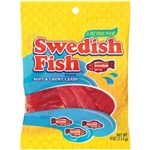 Swedish Fish Soft Berry Candy Fat Free - 4 Oz.
