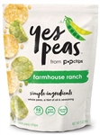 Farmhouse Ranch Yes Peas Kosher dairy Popped Pea Chips - 3 Oz.