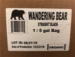 Wandering Bear Coffee Straight Black Cold Brew - 5 Gal.