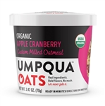 Premium Organic Apple Cranberry Almond Oatmeal - 70 Gram