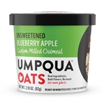 Umpqua Oats Super Premium Unsweetened Blueberry Apple Oatmeal - 2.2 Oz.