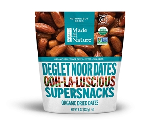 Made in Nature Organic Deglet Noor Dates - 8 Oz.
