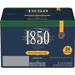 Folgers 1850 Ground Decaffeinated Pioneer Blend - 2.5 Oz.