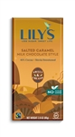 Lilys Sweets 40 Percent Chocolate Caramelized and Salted Milk Bar - 2.8 Oz.
