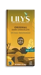 Lilys Sweets Original Dark Chocolate Bar - 3 Oz.