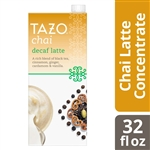 Tazo Concentrate Decaf Chai Latte - 32 Oz.
