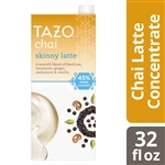 Tazo Tea Concentrate Skinny Chai Latte - 32 Oz.