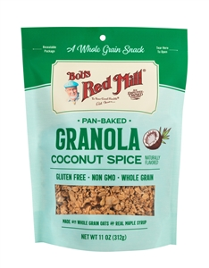 Bobs Red Mill Coconut Spice Granola - 11 Oz.