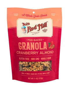 Bobs Red Mill Cranberry Almond Granola - 11 Oz.