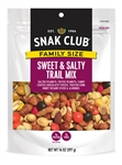 Snak Club Family Size Sweet and Salty Trail Mix - 14 Oz.