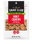 Super Value Honey Cashews - 4 Oz.