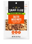 Snak Club Salted Mixed Nuts - 4 Oz.