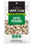 Snak Club Salted Pistachios - 3.75 Oz.